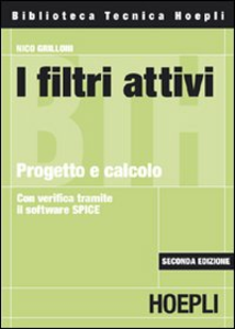 Libro I filtri attivi. Progetto e calcolo Nico Grilloni