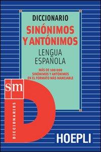Libro Diccionario sinónimos y antónimos. Lengua española