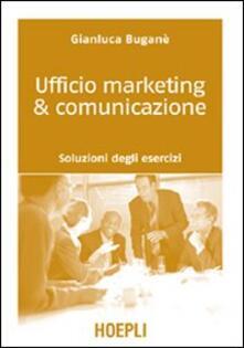 Daddyswing.es Ufficio marketing & comunicazione. Soluzioni degli esercizi Image