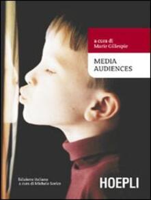 Media audiences - copertina