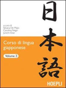 Libro Corso di lingua giapponese. Vol. 3