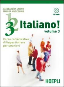 Nicocaradonna.it 1, 2, 3,... italiano! Corso comunicativo di lingua italiana per stranieri. Guida per l'insegnante. Vol. 3 Image