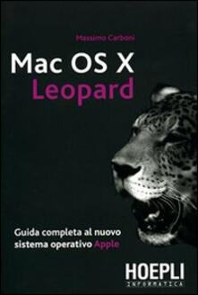Premioquesti.it Mac OS X Leopard. Guida completa al nuovo sistema operativo Apple Image