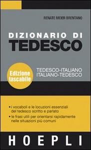 Libro Dizionario di tedesco. Tedesco-italiano, italiano-tedesco Renate Meier Brentano