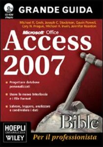 Libro Access 2007 Bible. Con CD-ROM