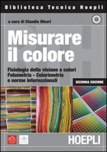 Libro Misurare il colore. Con CD-ROM