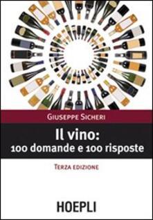 Equilibrifestival.it Il vino: 100 domande e 100 risposte Image
