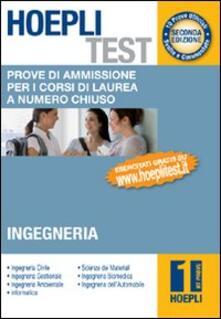 Antondemarirreguera.es Hoepli test. Prove di ammissione per i corsi di laurea a numero chiuso. Vol. 1: Ingegneria. Image