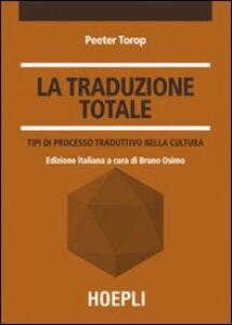 Libro La traduzione totale Peeter Torop