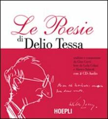 Le poesie. Con 2 CD Audio - Delio Tessa - copertina