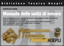 Manuale delle unità di misura - Alberto Del Gaudio - copertina