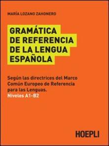 Parcoarenas.it Gramatica de referencia de la lengua espanola Image