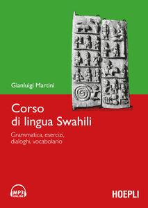 Libro Corso di lingua swahili. Con DVD-ROM Gianluigi Martini