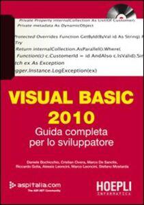 Foto Cover di Visual basic 2010. Guida completa per lo sviluppatore. Con DVD, Libro di  edito da Hoepli
