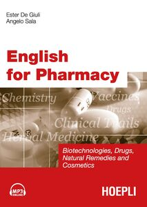 Libro English for Pharmacy. Con CD Audio Ester De Giuli , Angelo Sala