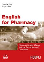 English for Pharmacy. Con tracce audio online