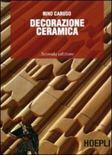 Decorazione ceramica - Nino Caruso - copertina