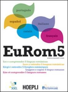 EuRom 5. Leggere e capire 5 lingue romanze - copertina