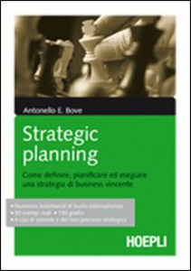 Libro Strategic Planning Antonello Bove