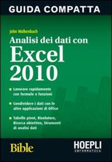 Analisi dei dati con Excel 2010.pdf