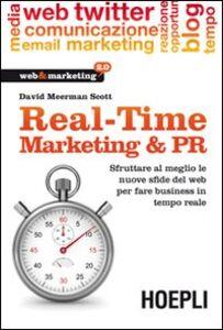 Libro Real Time Marketing David Meerman Scott