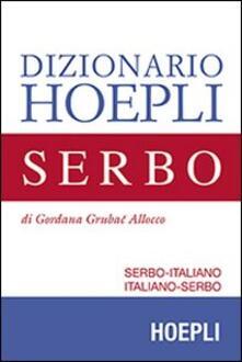 Dizionario di serbo. Serbo-italiano, italiano-serbo - Gordana Grubac - copertina