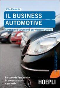 Libro Caramia. Il business automotive