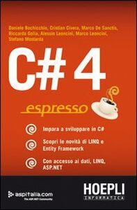 Libro C#4 espresso