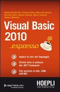 Visual Basic 2010 espresso
