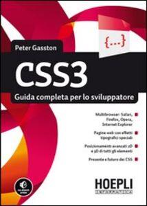 Libro CSS3. Guida completa per lo sviluppatore Peter Gasston