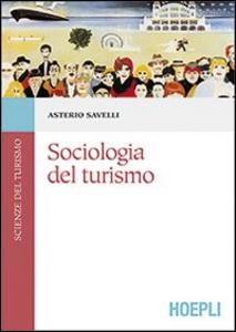 Libro Sociologia del turismo Asterio Savelli