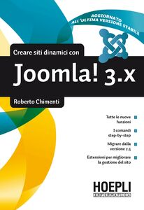 Foto Cover di Costruire siti dinamici con Joomla! 3.X, Libro di Roberto Chimenti, edito da Hoepli