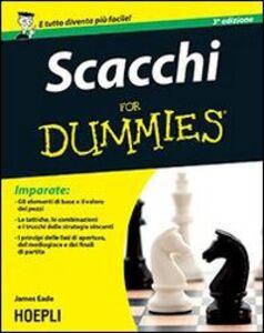 Libro Scacchi For Dummies James Eade
