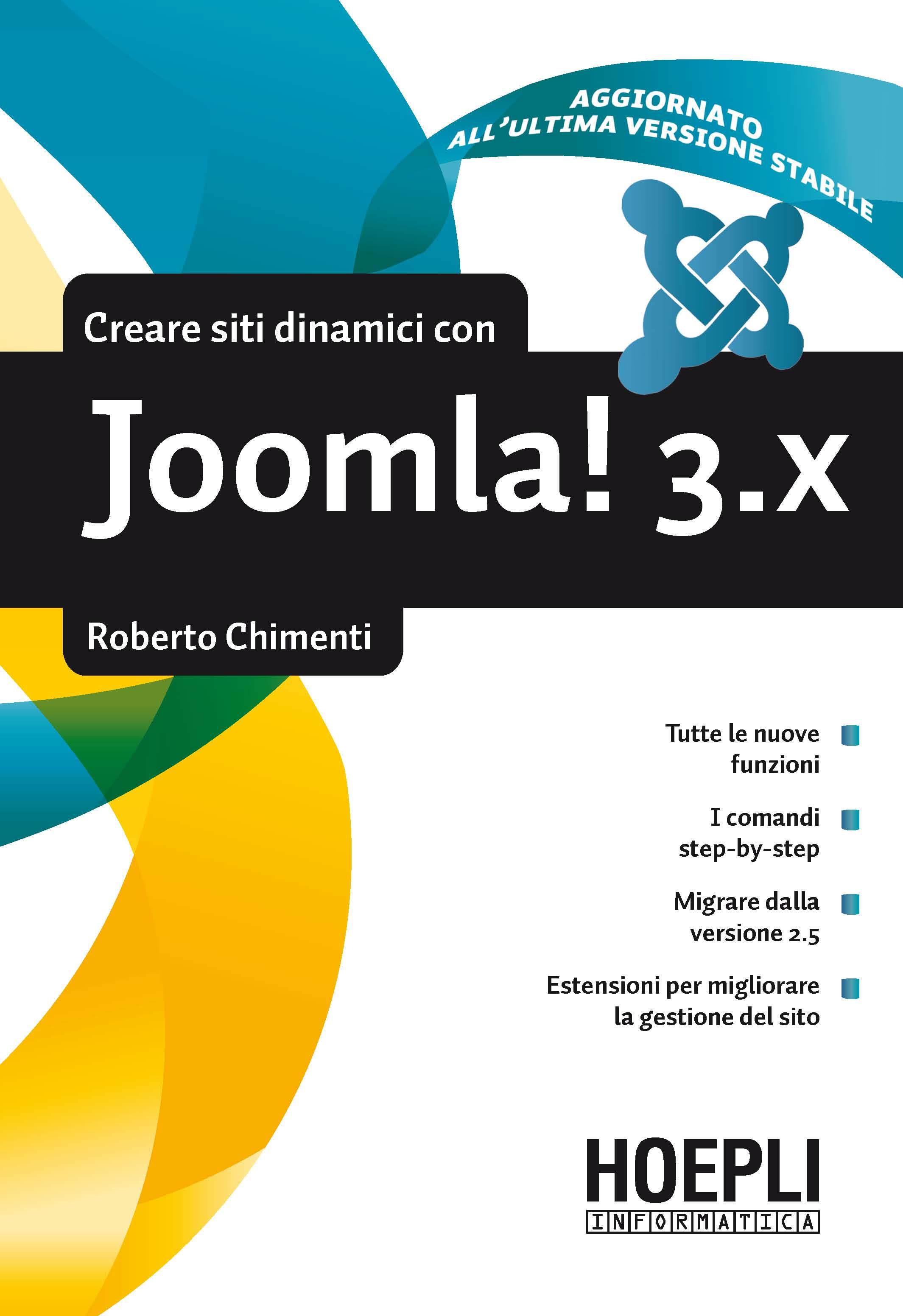 Image of Costruire siti dinamici con Joomla! 3.x
