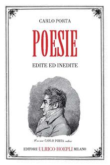 Poesie - Carlo Porta - copertina