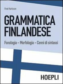 Equilibrifestival.it Grammatica finlandese. Fonologia. Morfologia. Cenni di sintassi Image