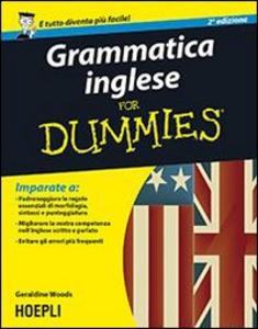 Libro Grammatica inglese For Dummies Geraldine Woods