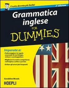 Grammatica inglese For Dummies - Geraldine Woods - copertina