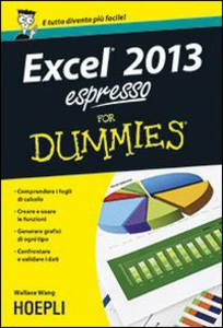Libro Excel 2013 Espresso For Dummies Wallace Wang