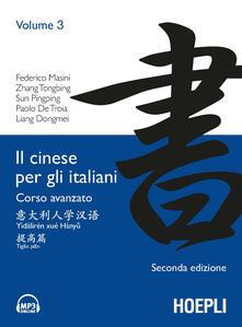 Librisulladiversita.it Il cinese per gli italiani. Corso avanzato Image