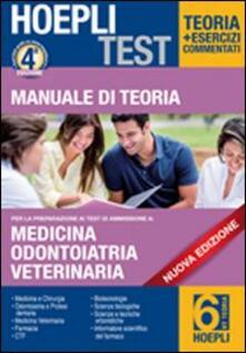 Fondazionesergioperlamusica.it Hoepli test. Manuale di teoria per i test di ammissione all'università. Vol. 6: Medicina, odontoiatria e protesi dentaria. Image