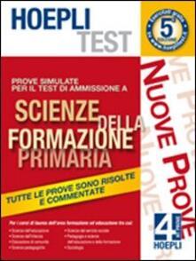 Hoepli test. Prove simulate per il test di ammissione a scienze della formazione primaria. Vol. 4.pdf