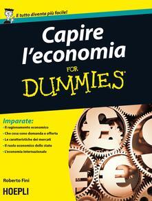 Lpgcsostenible.es Capire l'economia For Dummies Image