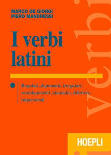 Camfeed.it I verbi latini. Regolari, deponenti, irregolari, semideponenti, atematici, difettivi, impersonali Image