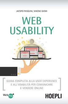 Vitalitart.it Web usability. Guida completa alla user experience e all'usabilità per comunicare e vendere online Image