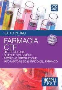 Libro Hoepli test. Tutto in uno. Teoria, esercizi e prove. Area farmaceutica. Vol. 10