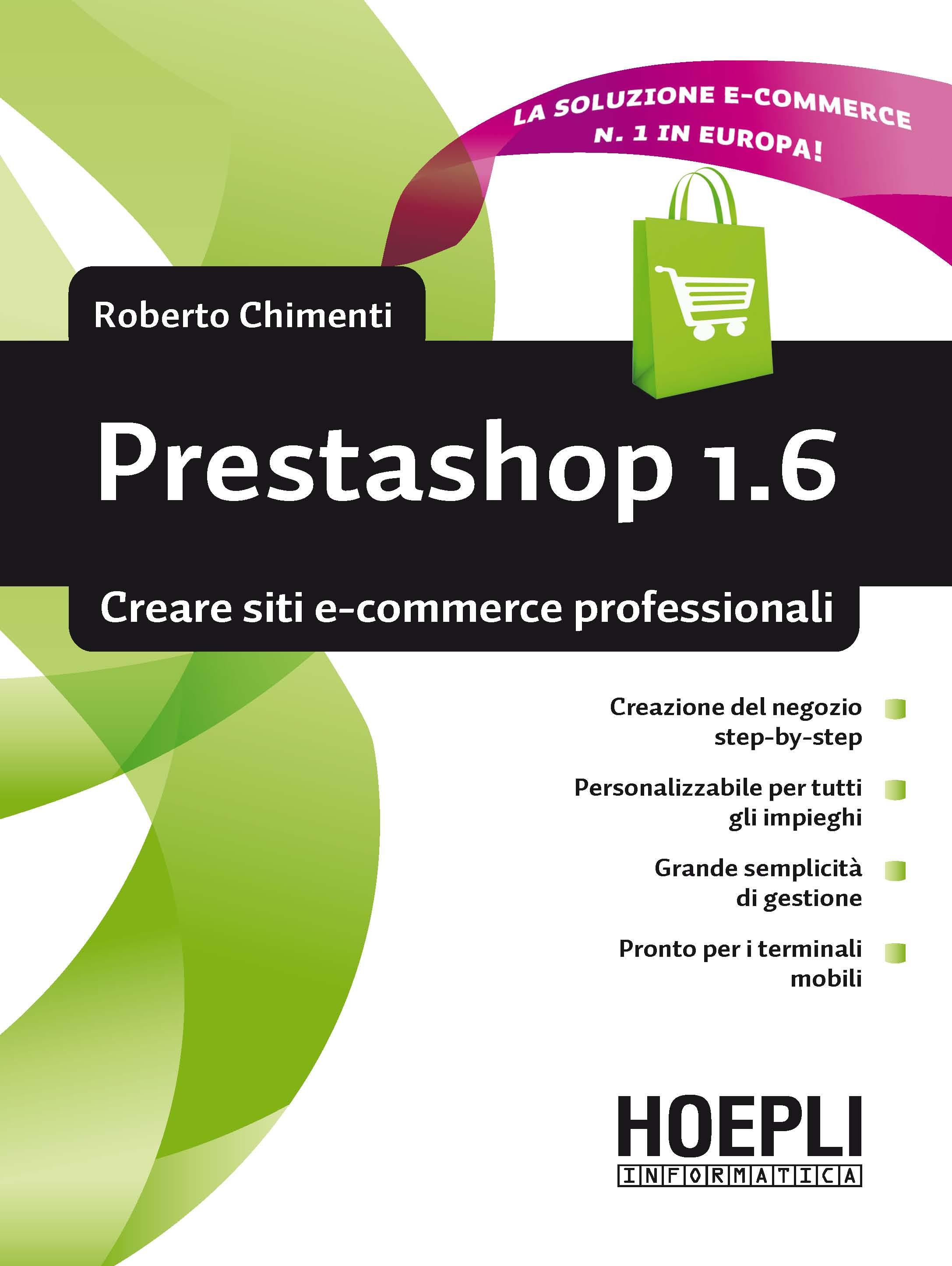 Image of Prestashop 1.6. Creare siti e-commerce professionali