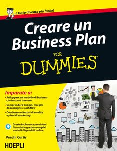 Libro Creare un Business Plan For Dummies Veechi Curtis