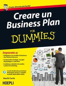 Creare un Business Plan For Dummies - Veechi Curtis - copertina