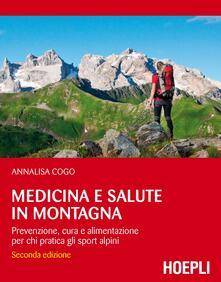 Fondazionesergioperlamusica.it Medicina e salute in montagna. Prevenzione, cura e alimentazione per chi pratica gli sport alpini Image